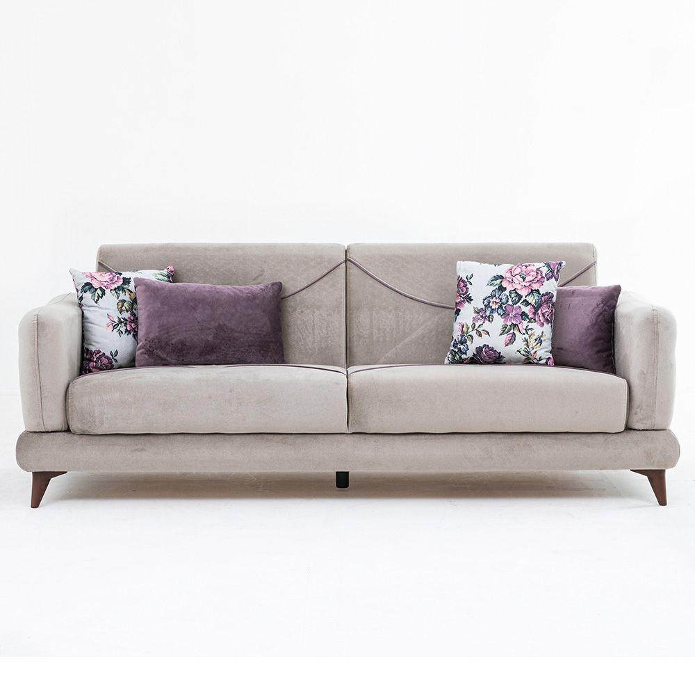 Bond Three Seater Fabric Sofa