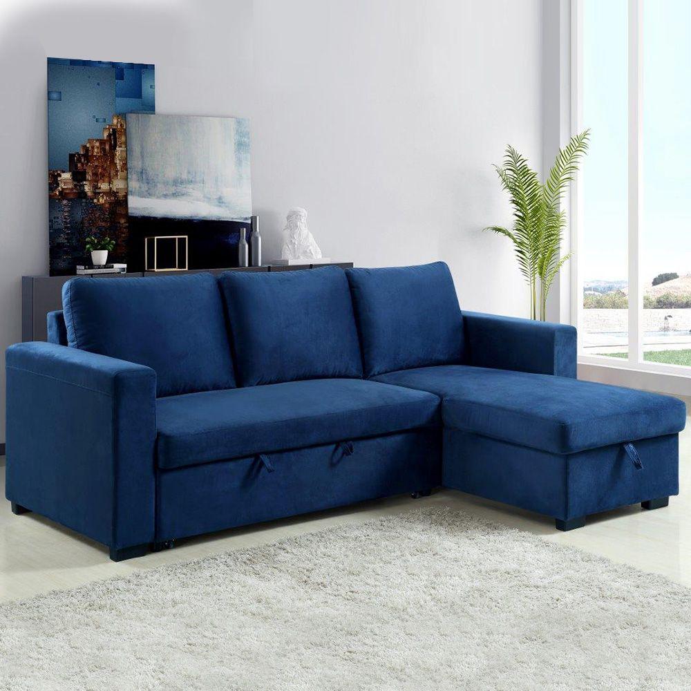 Holly Corner Fabric Sofa bed