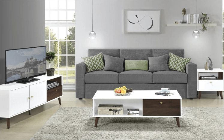 Natalia Coffee Table with Drawer